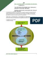 C1 LA INGENIERÍA de MÉTODOS Definicion y Antecedentes (1)