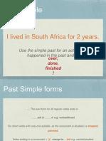 Simple Past vs Pres Perf