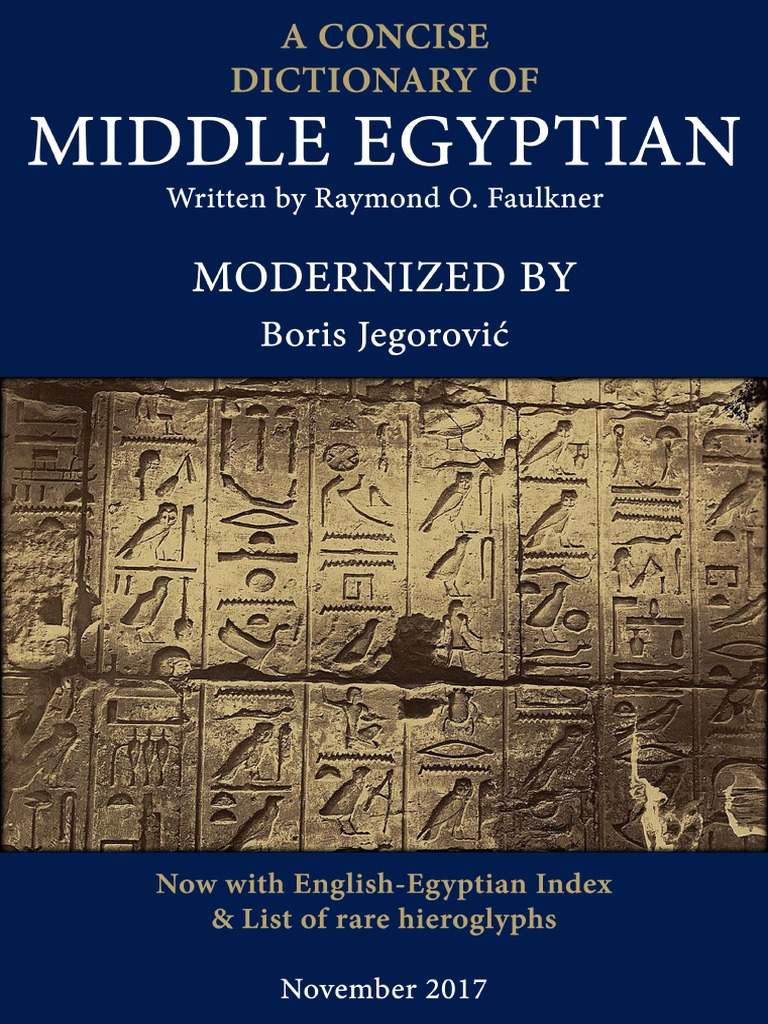 Modernized a concise dictionary of middle egyptian egyptian modernized a concise dictionary of middle egyptian egyptian hieroglyphs translations publicscrutiny Choice Image