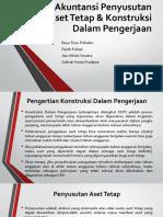 Akuntansi Penyusutan Aset Tetap & Konstruksi Dalam Pengerjaan Kelompok 2