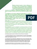 Inicialmente los fertilizantes prestaron atención a resolver deficiencias de macronutrientes en los suelos.docx