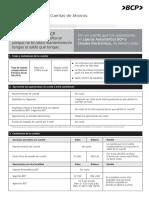 Cartilla Informativa Primera Cuenta BCP
