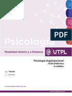 Psicología Organizacional - Guía Didáctica