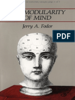 Fodor (1983) - The Modularity of Mind