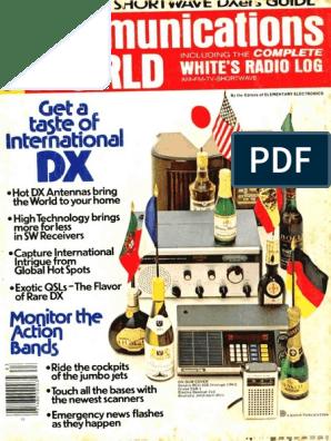 Communications World 1977 Fall Winter | Loudspeaker | Am