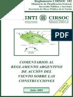 CIRSOC 102 (2005) - Comentarios