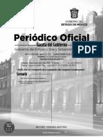 Gaceta Del Gobierno Del 21 de Diciembre de 2016