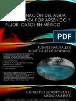 Contaminación del agua subterránea por arsénico y flúor.pptx