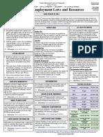 General Employment Law Fact Sheet