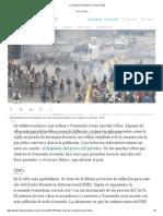 La Crisis de Venezuela%2c en Cinco Cifras