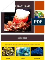 Os Minerais Ciencias 7º Ano
