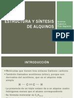 5. Estructura y Estereoquímica de Alquinos