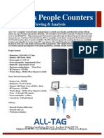 RF People Counter Software