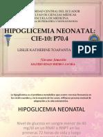 Hipoglicemianeonatal