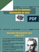 Teoria de Las Unidades Funcionales de Luria