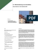 Wertzuwachs / Wertminderung von Immobilien