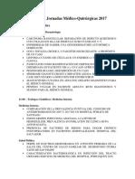 Programa Jornadas Médico-Quirúrgicas 2017 (Final)