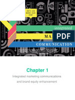 Integrated Marketing Communications CHAPTER 1