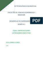 Ensayo Video Emprendedor Perú