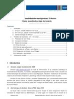 Guide pour les doctorants ULB
