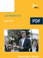 Lib Dem Autumn 2010 Conference - Agenda Book