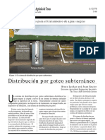OSSF Treatment Systems Subsurface Drip Distribution S