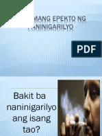 Masamang Epekto Ng Paninigarilyo