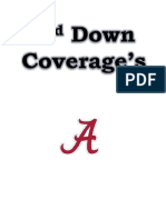 Alabama 3rd Down Coverages
