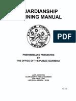 Guardianship Training Manual
