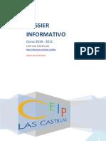 Dossier informativo curso 2010 - 2011