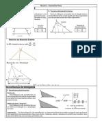 Resumo – Geometria Plana