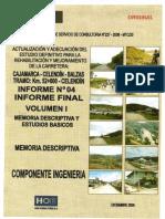 01 Vol I Memoria Descriptiva