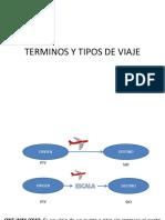 Terminos y Tipos de Viaje
