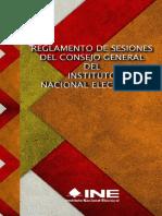Reglamento de Sesiones - Consejo General INE