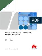 Railway Operational Communication Solution GSM-R 5.0 BTS3012AE Product Description V1.0