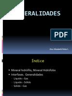 Generalidades mineralurgia