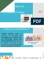 BURNOUT Síndrome de Quemazón
