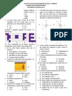 Examen Periodo I Decimo Tipo B