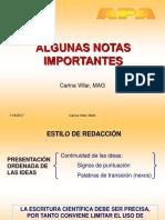 Apa Notas c. Villar