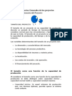 Módulo 1 TAMAÑO Y LOCALIZACIÓN DEL PROYECTO
