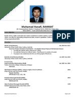 Contoh-contoh Resume