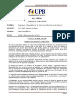 Trabajo de Evaluacion Empresas Estatales en Bolivia
