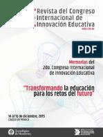 Memorias2CongresoInternacionalDeInnovacionEducativa2015 (1)