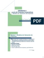 Módulo 7_Modelos de Valoración de Empresas