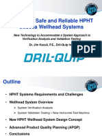 Dr Jim Kaculi - Drill Quip - Designing Safe and Reliable Hpht