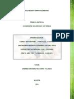 1ra Entrega Gerencia Desarrollo Sotenible