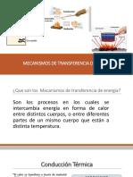 Mecanismos de Transferencia de Energia