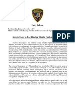 Dog Fighting Press Release MCSO