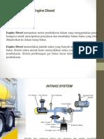 Media Belajar Sistem Pemasukan Motor Diesel