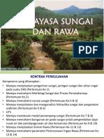 Bahan Kuliah Rekayasa Sungai dan rawa